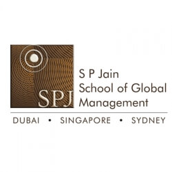 S P Jain School of Global Management Scholarship programs