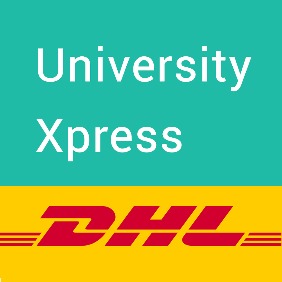 DHL Express courier - Send University transcripts across the globe