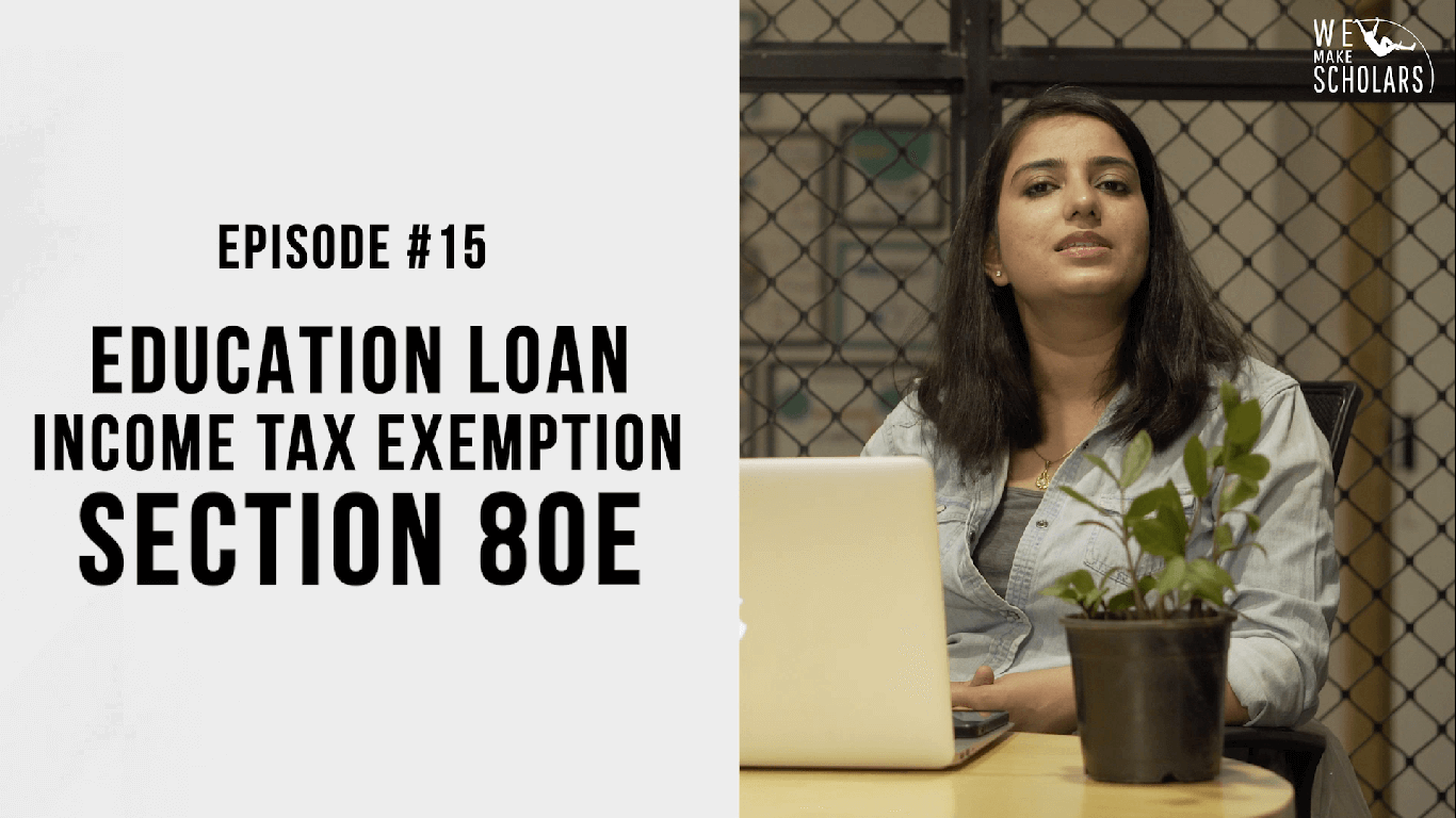 Education loan income tax-exemption: Section 80 E  cover pic