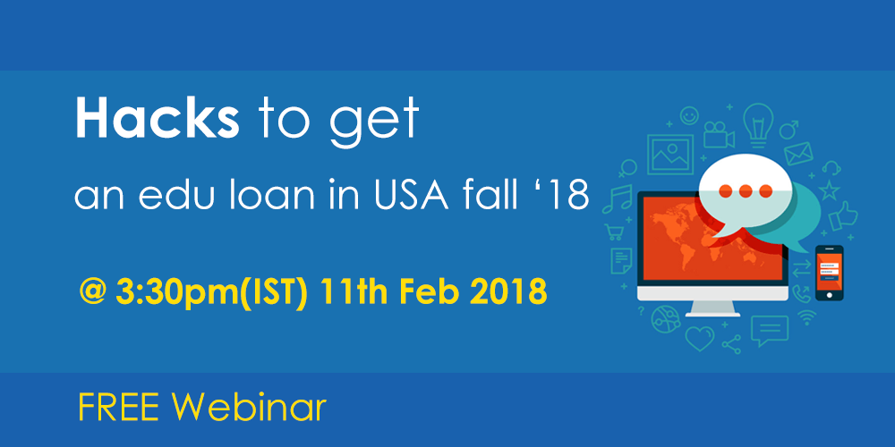 Securing an education loan for USA Fall 18- Collateral & Non-collateral