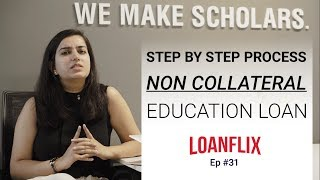 Applying for Non collateral education loan: Step by Step process cover pic