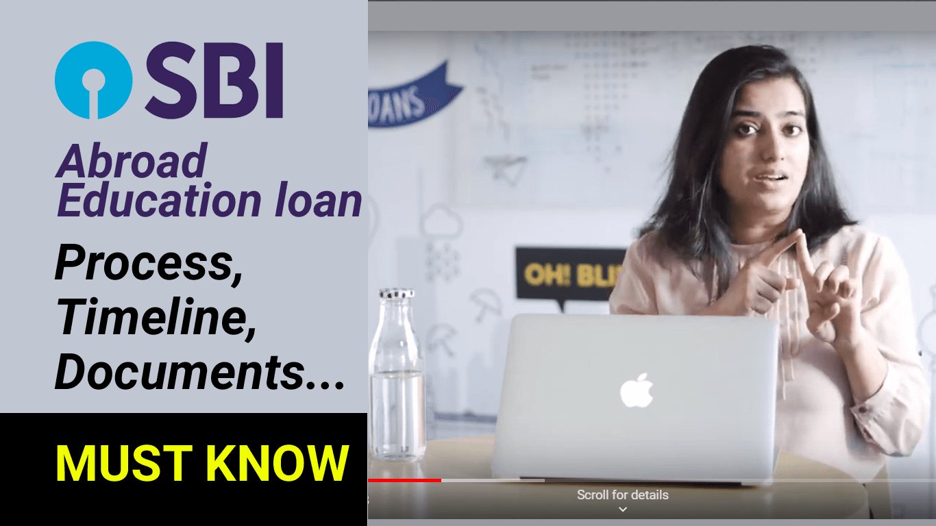 SBI Education Loan - Documentation, process and timeline cover pic