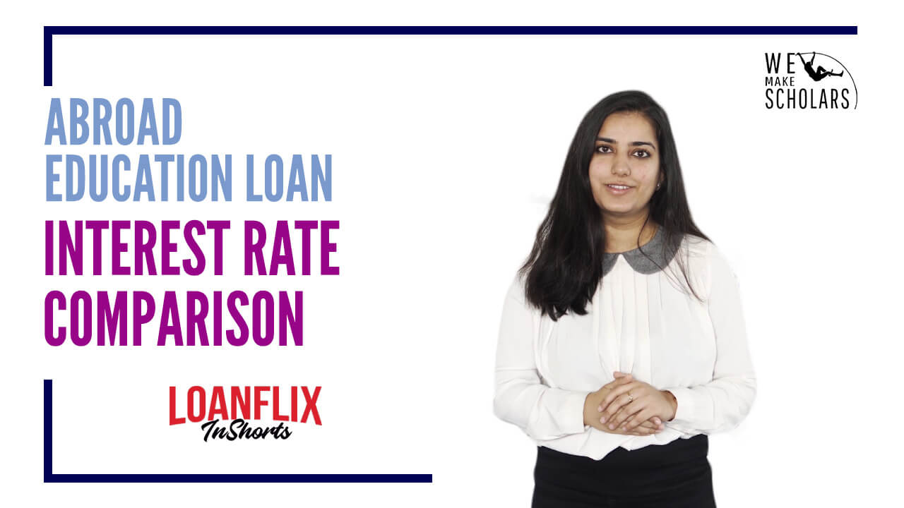 Abroad Education Loan Interest Rate of Different Lenders cover pic