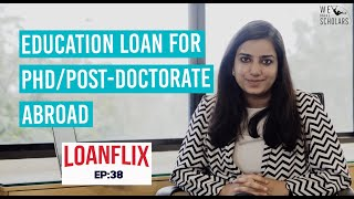 Study Abroad Education Loan For PhD & Post Doctoral Courses cover pic