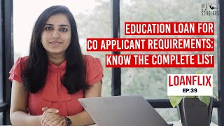 Education Loan Co Applicant Requirements: Know the Complete Details cover pic