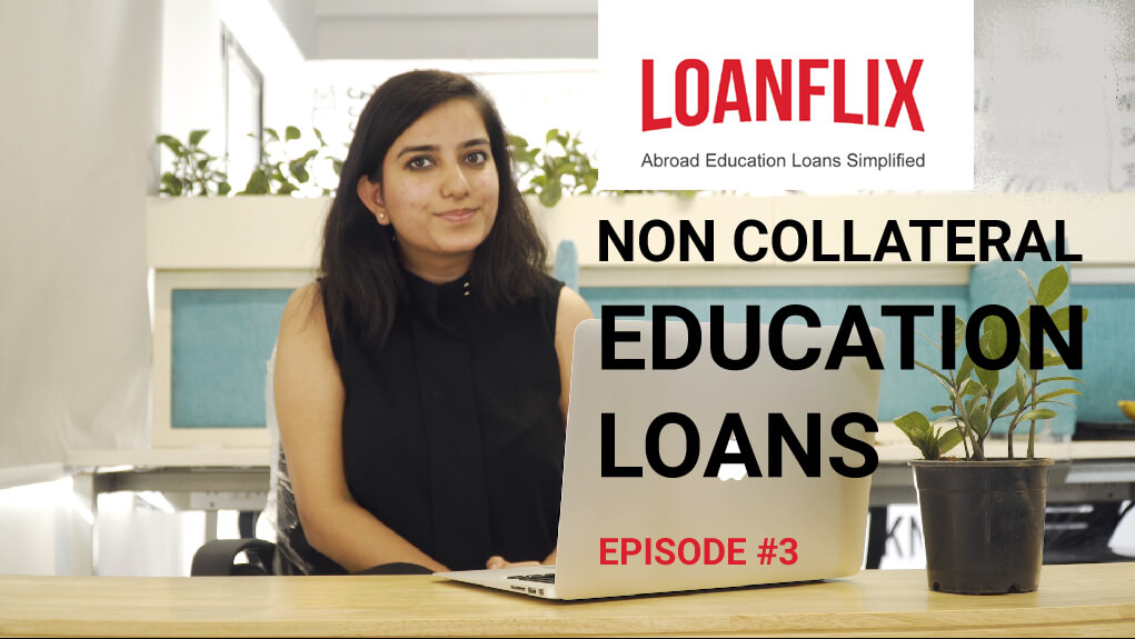 Private education loan without collateral - How to get one?