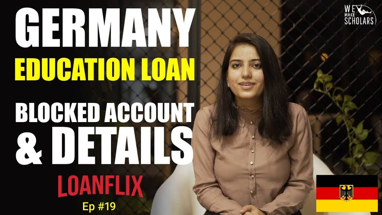Germany Education Loan: Blocked Account & Other Details cover pic